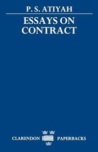 Book Essays on Contract by P. S. Atiyah