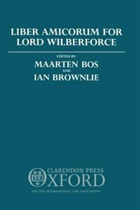 Book Liber Amicorum for Lord Wilberforce by Maarten Bos