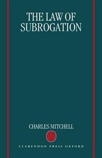 Book The Law of Subrogation by Charles Mitchell