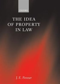 The Idea of Property in Law