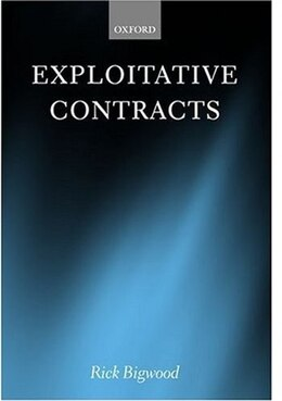 Book Exploitative Contracts by Rick Bigwood