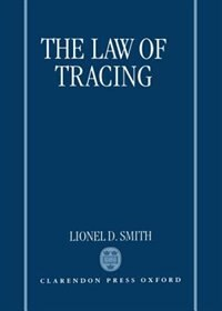 Book The Law of Tracing by Lionel D. Smith