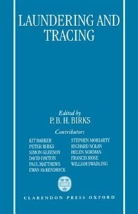 Book Laundering and Tracing by Peter Birks