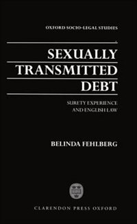 Sexually Transmitted Debt: Surety Experience and English Law