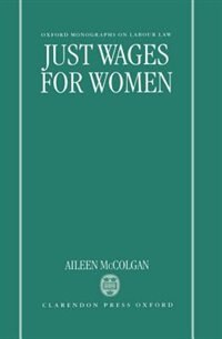 Book Just Wages for Women by Aileen McColgan