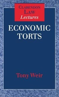 Book Economic Torts by Tony Weir