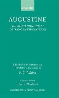 Book De Bono Coniugali and De Sancta Virginitate by St Augustine