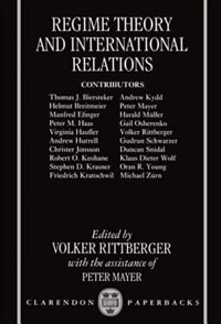 Book Regime Theory and International Relations by Peter Mayer