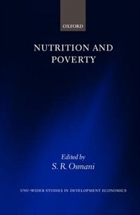 Book Nutrition and Poverty by S. R. Osmani