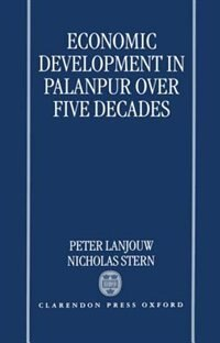 Book Economic Development in Palanpur over Five Decades by Peter Lanjouw