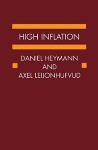 Book High Inflation: The Arne Ryde Memorial Lectures by Daniel Heymann