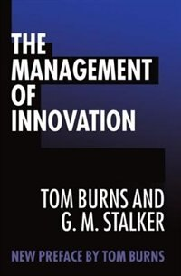 Book The Management of Innovation by Tom Burns