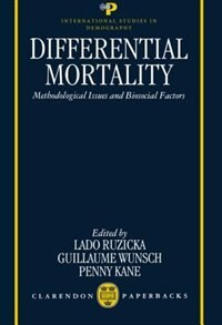 Book Differential Mortality: Methodological Issues and Biosocial Factors by Lado Ruzicka