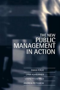 Book The New Public Management in Action by Ewan Ferlie