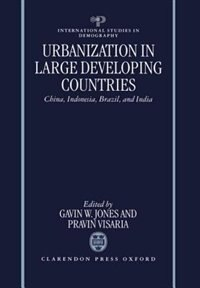 Book Urbanization in Large Developing Countries: China, Indonesia, Brazil, and India by Gavin W. Jones