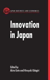 Book Innovation in Japan by Akira Goto