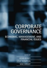 Book Corporate Governance: Economic and Financial Issues by Kevin Keasey