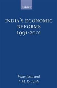 Book Indias Economic Reforms, 1991-2001 by Vijay Joshi