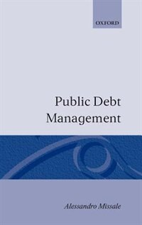Book Public Debt Management by Alessandro Missale