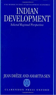 Book Indian Development: Selected Regional Perspectives by Jean Dreze