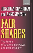 Fair Shares: The Future of Shareholder Power and Responsibility
