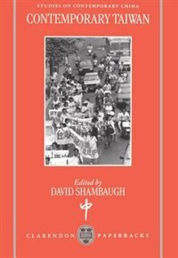 Book Contemporary Taiwan by David Shambaugh