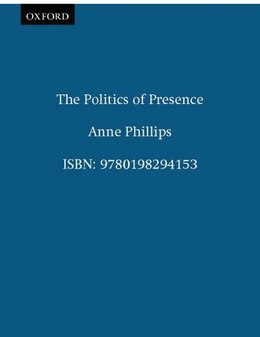 Book The Politics of Presence by Anne Phillips