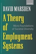Book A Theory of Employment Systems: Micro-Foundations of Societal Diversity by David Marsden