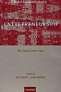 Book Entrepreneurship: The Social Science View by Richard Swedberg