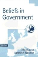 Book Beliefs in Government by Max Kaase