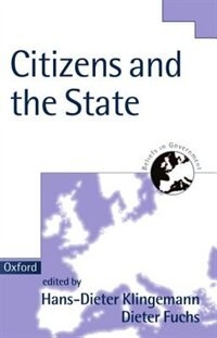 Book Citizens and the State by Hans-Dieter Klingemann