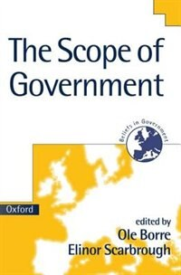 Book The Scope of Government by Ole Borre