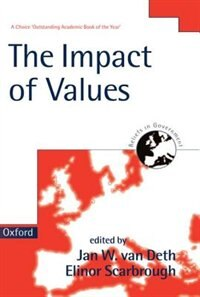 Book The Impact of Values by Jan W. Van Deth