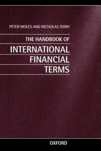 Book The Handbook of International Financial Terms by Peter Moles