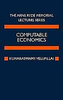 Book Computable Economics: The Arne Ryde Memorial Lectures by K. Velupillai