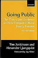 Book Going Public: The Theory and Evidence on How Companies Raise Equity Finance by Tim Jenkinson