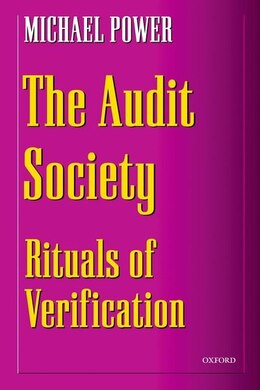 Book The Audit Society: Rituals of Verification by MICHAEL POWER