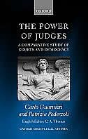 Book The Power of Judges: A Comparative Study of Courts and Democracy by Carlo Guarnieri