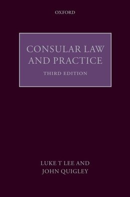 Book Consular Law and Practice by Luke T. Lee  J.D.