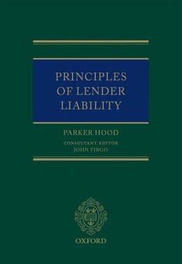 Book Principles of Lender Liability by Parker Hood