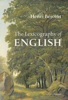 The Lexicography of English