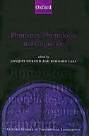 Book Phonetics, Phonology, and Cognition by Jacques Durand