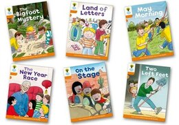 Book Oxford Reading Tree Biff, Chip and Kipper Stories Decode and Develop: Level 6 Pack of 6 by Roderick Hunt