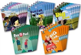 Book Project X Origins: Red Book Band, Oxford Level 2 Big and Small: Class Pack of 30 by Tony Bradman