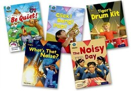 Book Project X Origins: Green Book Band, Oxford Level 5 Making Noise: Mixed Pack of 5 by Tony Bradman