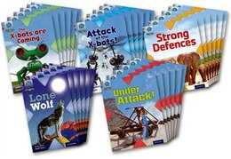 Book Project X Origins: Brown Book Band, Oxford Level 11 Strong Defences: Class Pack of 30 by Anthony McGowan