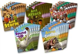 Book Project X Origins: Brown Book Band, Oxford Level 11 Conflict: Class Pack of 30 by Anthony McGowan