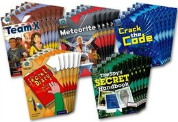 Book Project X Origins: Dark Blue Book Band, Oxford Level 15 Top Secret: Class Pack of 30 by Tony Bradman