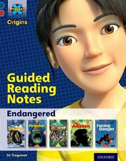 Book Project X Origins: Dark Blue Book Band, Oxford Level 15 Endangered: Guided reading notes by Jo Tregenza