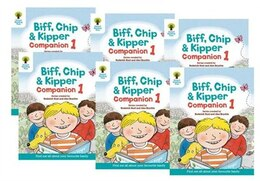 Book Oxford Reading Tree: Reception / Year 1 Biff, Chip and Kipper Companion 1 Pack of 6 by Roderick Hunt